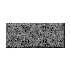 Gray Psychedelic Background Cosmetic Storage Cases