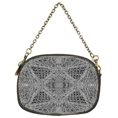 Gray Psychedelic Background Chain Purses (one Side)