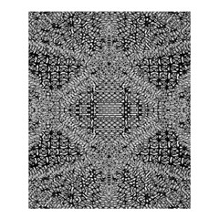 Gray Psychedelic Background Shower Curtain 60  X 72  (medium)