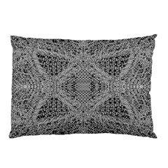 Gray Psychedelic Background Pillow Case (two Sides)