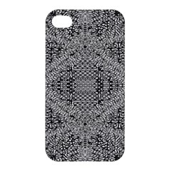 Gray Psychedelic Background Apple Iphone 4/4s Hardshell Case