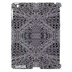Gray Psychedelic Background Apple Ipad 3/4 Hardshell Case (compatible With Smart Cover)