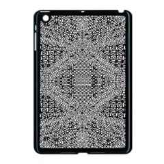 Gray Psychedelic Background Apple Ipad Mini Case (black)