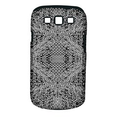 Gray Psychedelic Background Samsung Galaxy S Iii Classic Hardshell Case (pc+silicone)