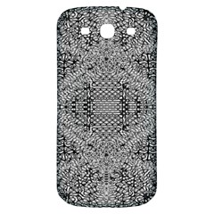 Gray Psychedelic Background Samsung Galaxy S3 S Iii Classic Hardshell Back Case