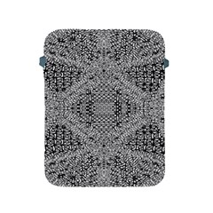 Gray Psychedelic Background Apple Ipad 2/3/4 Protective Soft Cases