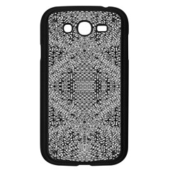 Gray Psychedelic Background Samsung Galaxy Grand Duos I9082 Case (black)