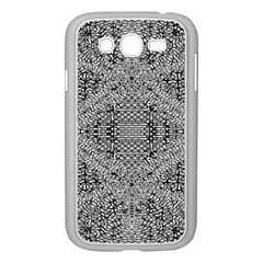 Gray Psychedelic Background Samsung Galaxy Grand Duos I9082 Case (white)