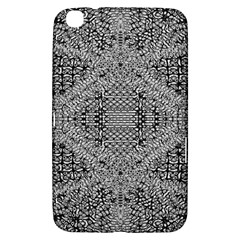 Gray Psychedelic Background Samsung Galaxy Tab 3 (8 ) T3100 Hardshell Case