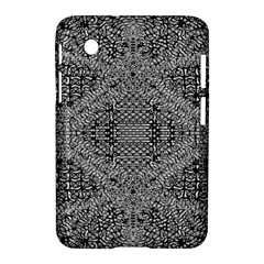 Gray Psychedelic Background Samsung Galaxy Tab 2 (7 ) P3100 Hardshell Case
