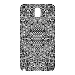 Gray Psychedelic Background Samsung Galaxy Note 3 N9005 Hardshell Back Case
