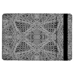 Gray Psychedelic Background Ipad Air Flip