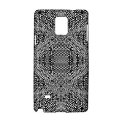 Gray Psychedelic Background Samsung Galaxy Note 4 Hardshell Case