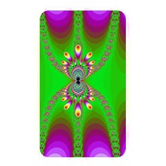 Green And Purple Fractal Memory Card Reader