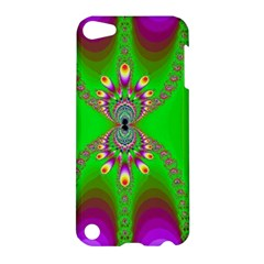 Green And Purple Fractal Apple Ipod Touch 5 Hardshell Case