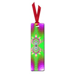 Green And Purple Fractal Small Book Marks