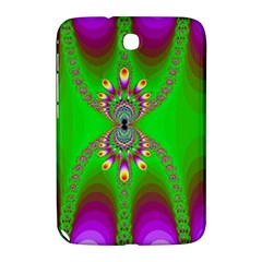 Green And Purple Fractal Samsung Galaxy Note 8 0 N5100 Hardshell Case