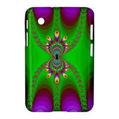 Green And Purple Fractal Samsung Galaxy Tab 2 (7 ) P3100 Hardshell Case