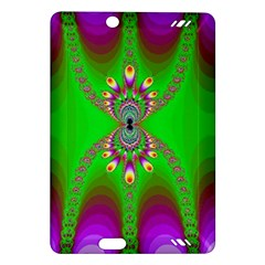 Green And Purple Fractal Amazon Kindle Fire Hd (2013) Hardshell Case