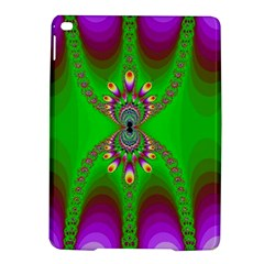 Green And Purple Fractal Ipad Air 2 Hardshell Cases