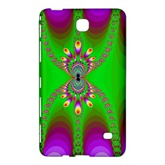 Green And Purple Fractal Samsung Galaxy Tab 4 (7 ) Hardshell Case