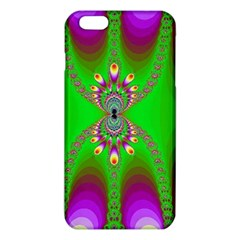 Green And Purple Fractal iPhone 6 Plus/6S Plus TPU Case
