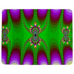 Green And Purple Fractal Jigsaw Puzzle Photo Stand (Rectangular)