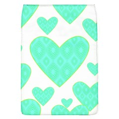 Green Heart Pattern Flap Covers (L)