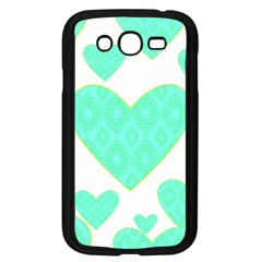 Green Heart Pattern Samsung Galaxy Grand Duos I9082 Case (black)