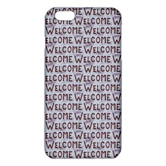 Welcome Letters Pattern iPhone 6 Plus/6S Plus TPU Case