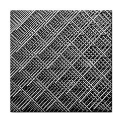 Grid Wire Mesh Stainless Rods Rods Raster Tile Coasters