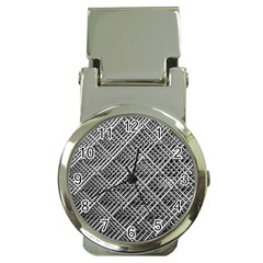 Grid Wire Mesh Stainless Rods Rods Raster Money Clip Watches