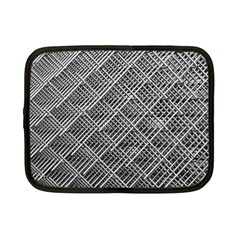 Grid Wire Mesh Stainless Rods Rods Raster Netbook Case (small)