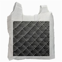 Grid Wire Mesh Stainless Rods Rods Raster Recycle Bag (one Side)