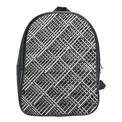 Grid Wire Mesh Stainless Rods Rods Raster School Bags(large)