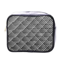 Grid Wire Mesh Stainless Rods Rods Raster Mini Toiletries Bags