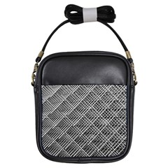 Grid Wire Mesh Stainless Rods Rods Raster Girls Sling Bags
