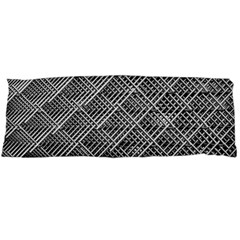 Grid Wire Mesh Stainless Rods Rods Raster Body Pillow Case Dakimakura (two Sides)