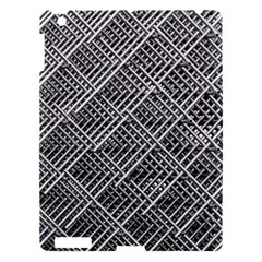 Grid Wire Mesh Stainless Rods Rods Raster Apple Ipad 3/4 Hardshell Case