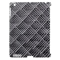 Grid Wire Mesh Stainless Rods Rods Raster Apple Ipad 3/4 Hardshell Case (compatible With Smart Cover)