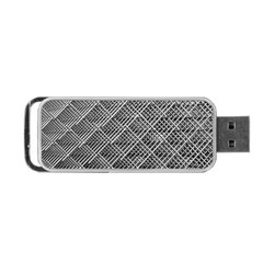 Grid Wire Mesh Stainless Rods Rods Raster Portable Usb Flash (one Side)