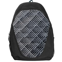 Grid Wire Mesh Stainless Rods Rods Raster Backpack Bag