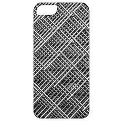 Grid Wire Mesh Stainless Rods Rods Raster Apple Iphone 5 Classic Hardshell Case