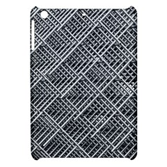Grid Wire Mesh Stainless Rods Rods Raster Apple Ipad Mini Hardshell Case