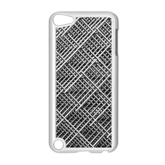 Grid Wire Mesh Stainless Rods Rods Raster Apple Ipod Touch 5 Case (white)