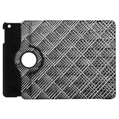 Grid Wire Mesh Stainless Rods Rods Raster Apple Ipad Mini Flip 360 Case
