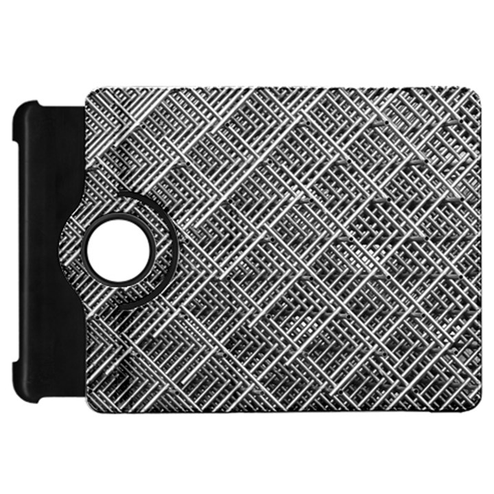 Grid Wire Mesh Stainless Rods Rods Raster Kindle Fire HD 7