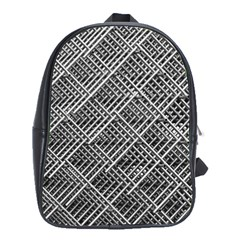 Grid Wire Mesh Stainless Rods Rods Raster School Bags (xl)