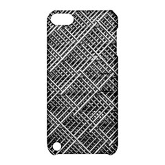 Grid Wire Mesh Stainless Rods Rods Raster Apple Ipod Touch 5 Hardshell Case With Stand
