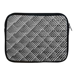 Grid Wire Mesh Stainless Rods Rods Raster Apple Ipad 2/3/4 Zipper Cases